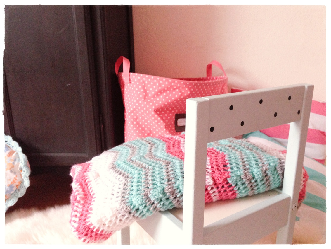 diy le plaid chevron au crochet cess de citron. Black Bedroom Furniture Sets. Home Design Ideas