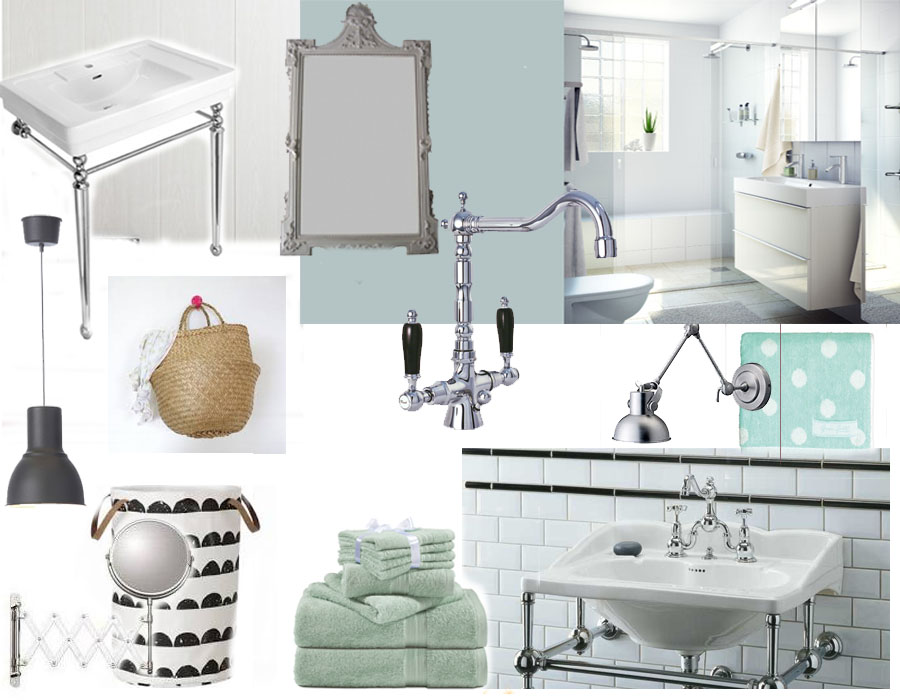 Projet d co et si on retapait la salle de bain cess for Presentation salle de bain